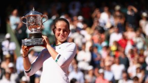 Image result for French Open : Ostapenko beats Halep in women's final