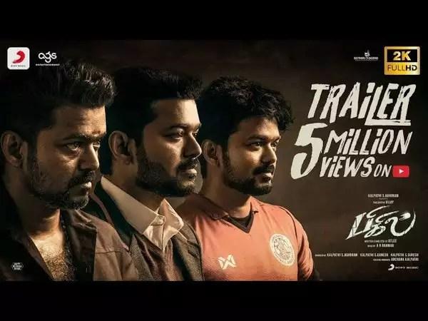 bigil official trailer
