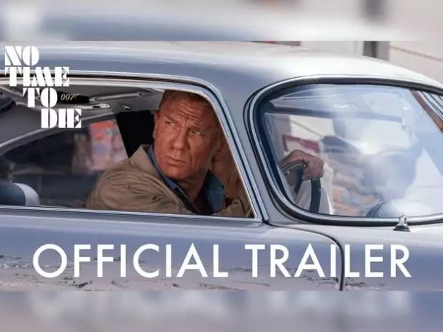 जेम्स बॉन्ड सीरीज की फिल्म 'नो टाइम टू डाय' का ऑफिशल ट्रेलर