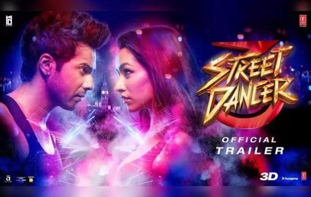 Watch, 'Street Dancer 3D' trailer