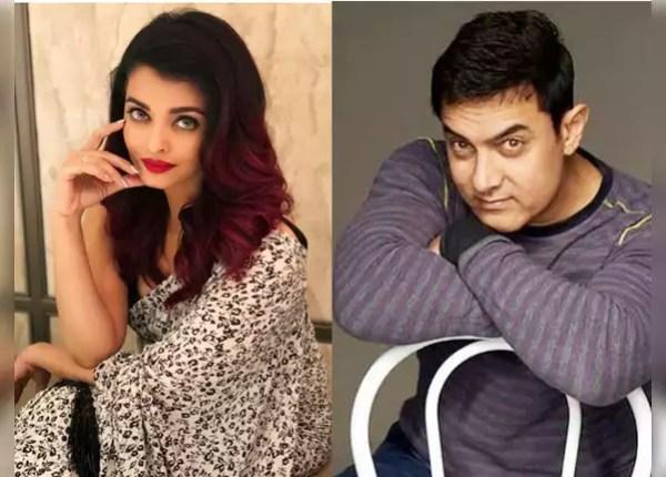 Aamir Khan and Aishwarya Rai Bachchan