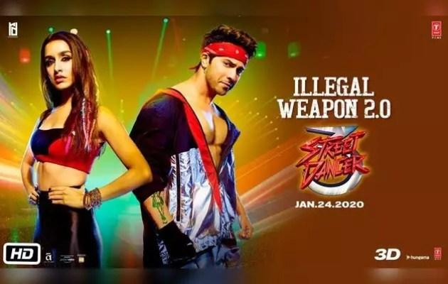 'Street Dancer 3D' new song 'Ilgal Weapon 2.0'
