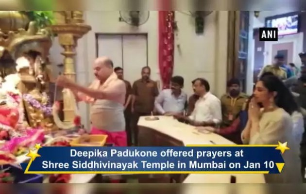 Deepika Padukone reached Siddhivinayak temple for 'Chhapak'