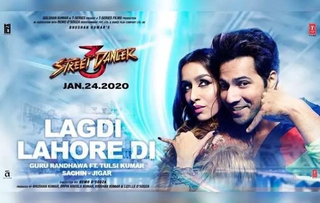 New song 'Lag di Lahore di' from 'Street Dancer 3D'
