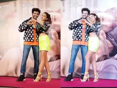 Kartik Aaryan: Karthik proposed to Sara in Shahrukh Khan style, said – Tu Ya Kar Ya Na Kar, Tu Hai Meri Sara – kartik aaryan playfully proposes sara ali khan in shah rukh style at trailer launch of love aaj kal