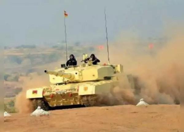 रूस के T90 टैंक