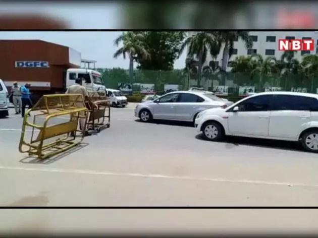 राजस्थान-गुजरात का मावल बॉर्डर सील, वाहनों की लगी कतारें