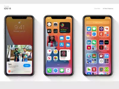 Apple brought iOS 14