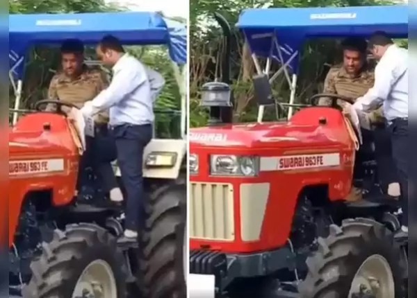 Dhoni's tractor is about 8 lakhs