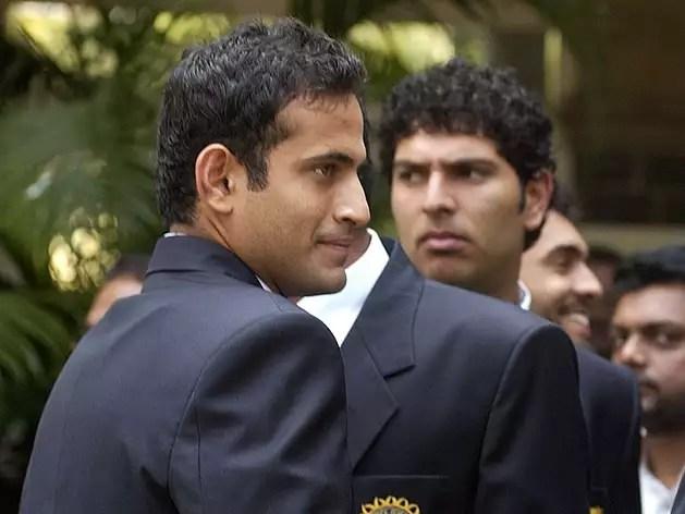 Irfan Pathan and Yuvraj Singh (file)