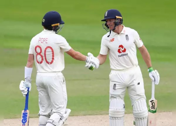 Manchester Test: Pope and Butler take over England