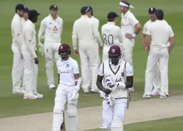 The batsmen of the Windies team did not run again