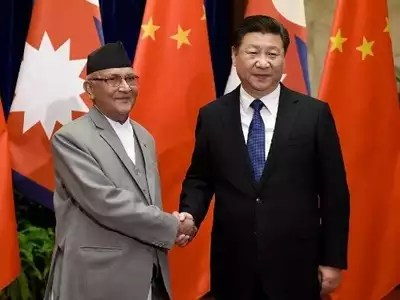 शी जिनपिंग और केपी शर्मा ओली