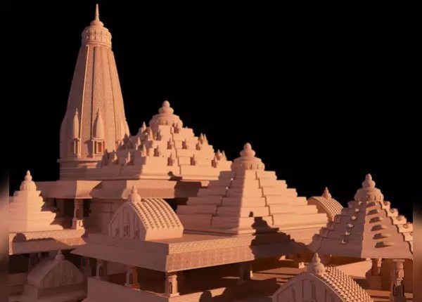 Temple will be built in three and a half years