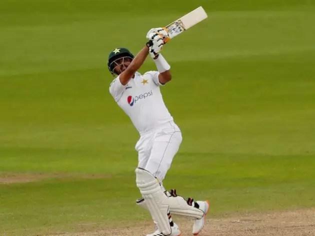 Babar Azam's strong innings, Pakistan heavy on England