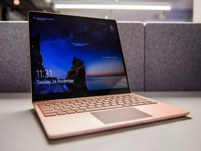 Microsoft Surface Laptop Go Touchscreen Price India 2