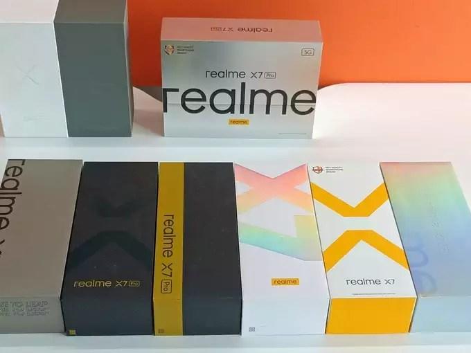 Realme X7 Pro Box