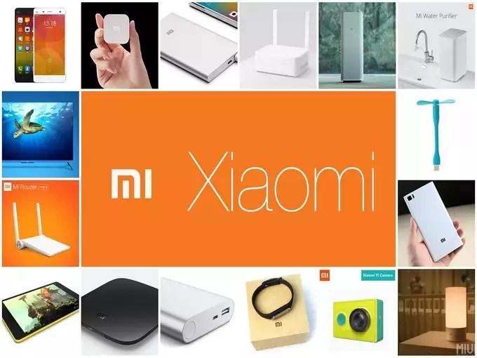 Xiaomi Mi Redmi Mijia Brand products india 2