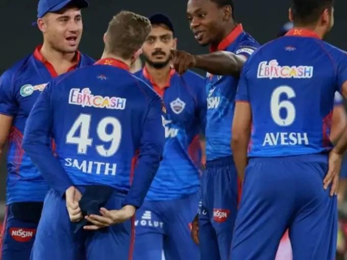 Players of delhi capitals
