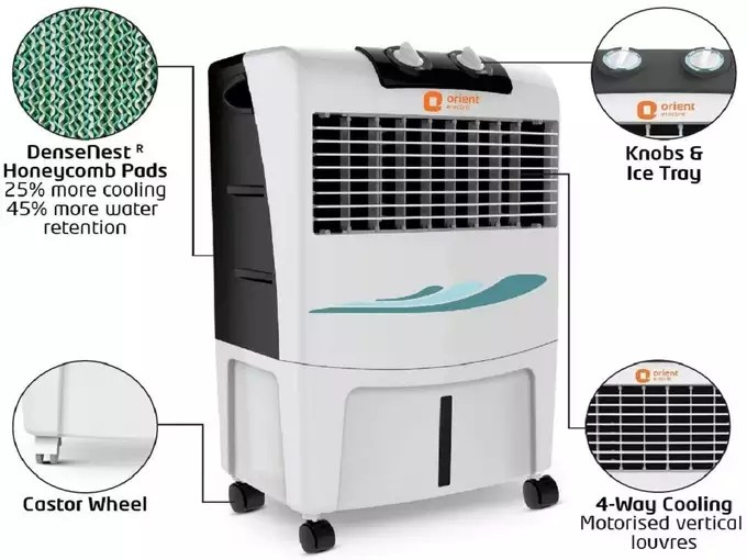 Orient air coolers Under 7000 in india Price Features 2