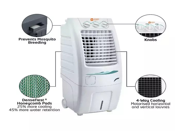 Orient air coolers Under 7000 in India Price Features 3