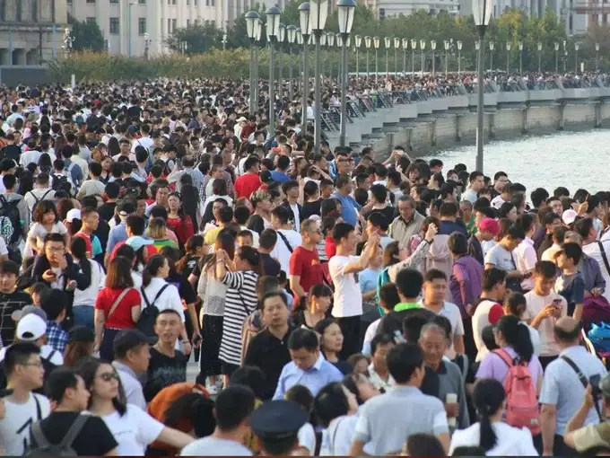 Spread in the city of China (symbolic photo)