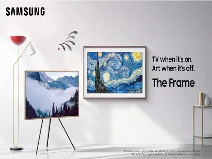 SAMSUNG The Frame 2021 Series 43 inch QLED Ultra HD 4K Smart TV