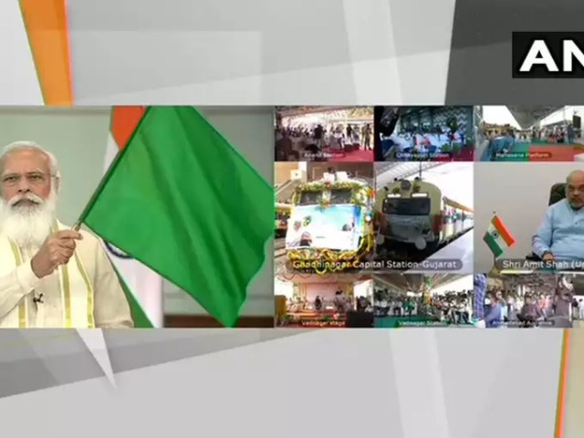 Modi inaugurated