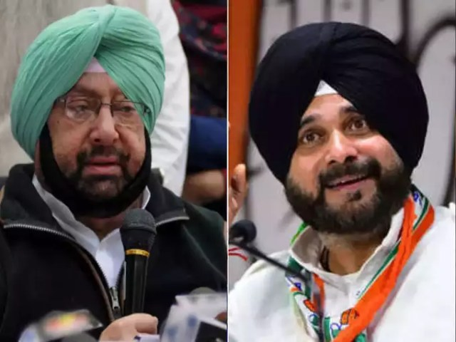 Tension between Captain and Sidhu