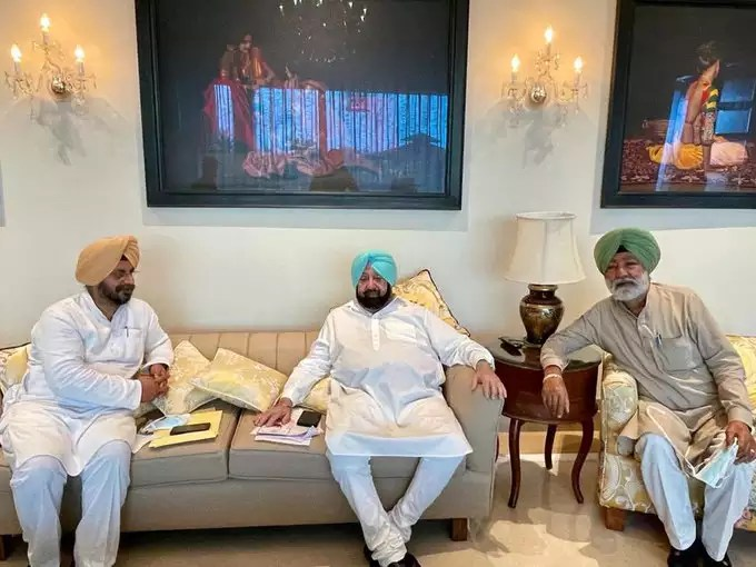 Working President of Punjab Congress Committee came to invite Amarinder