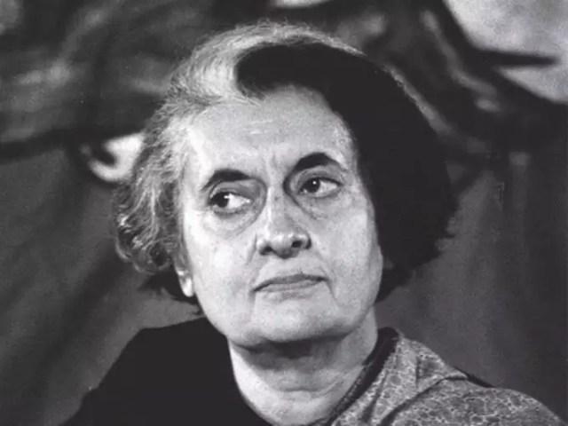 Indira Gandhi (file photo)