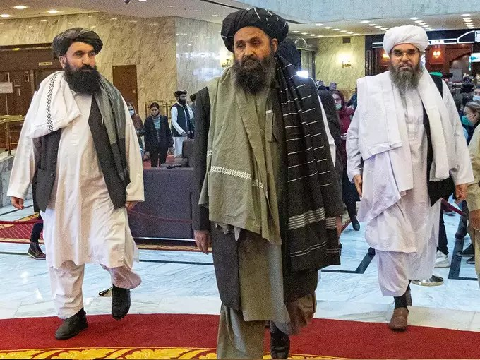 In whose hands is the Taliban government?