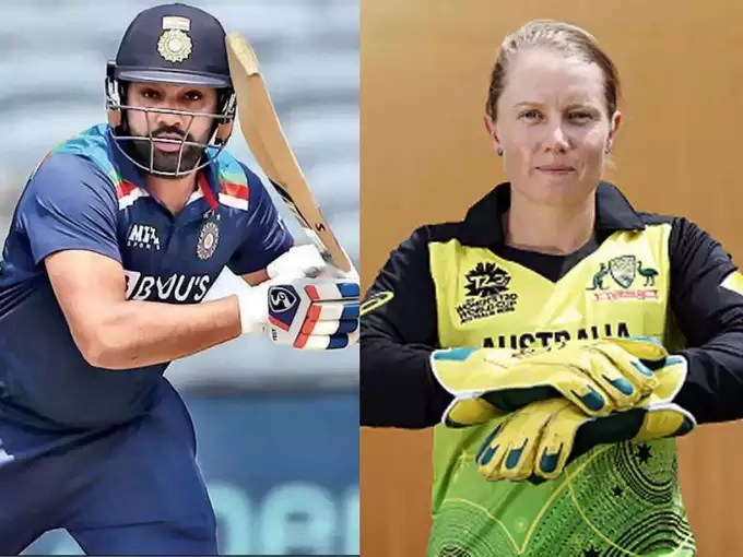 Mitchell Starc's cricketer wife Alyssa Healy became a fan of Rohit Sharma, said - I want to play like him in all three formats