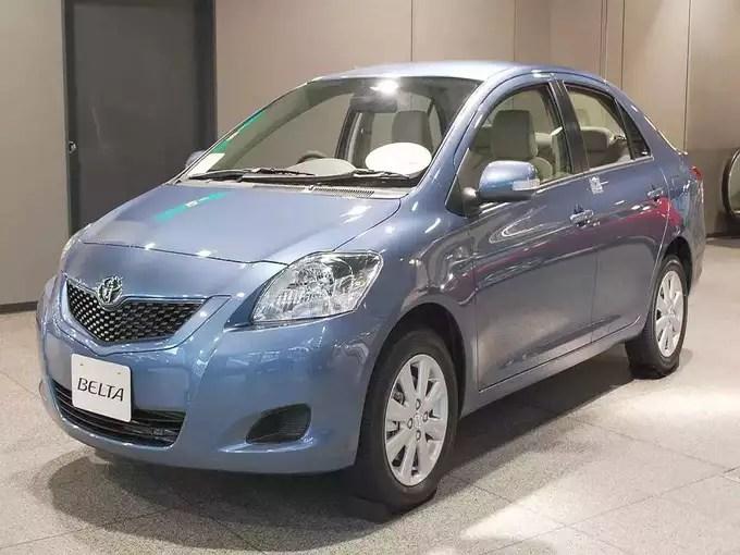 Toyota Rumion MPV Toyota Belta Sedan India Launch 2