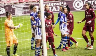 Fotos: Las imágenes del empate entre el EDF Logroño y el Sporting de Huelva  | La Rioja