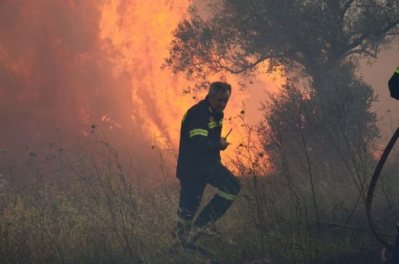 Πυρκαγιά στην Αγναντερή του Δ. Κιλελέρ