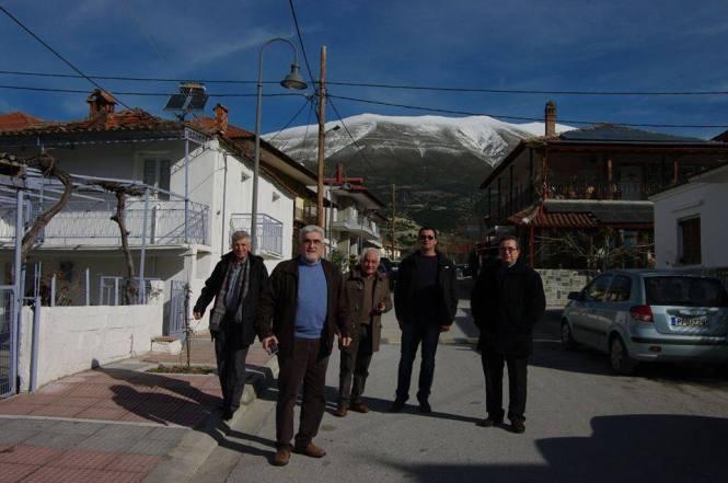 Ο Γιάννης Καριπίδης μίλησε στα χωριά του Ολύμπου