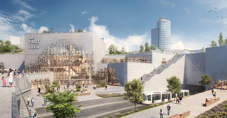 futur centre commercial de la part dieu