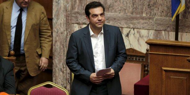 """Puisque nos partenaires et créanciers ont préparé un plan pour un Grexit, ne devions-nous pas, en tant que gouvernement, préparer notre défense ?"""", a lancé Alexis Tsipras."""