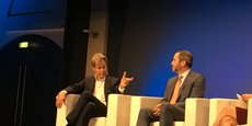 Swift CEO Gottfried Leibbrandt against Brad Garlinghouse and Ripple on Wednesday (January 30th) at the Paris Fintech Forum.