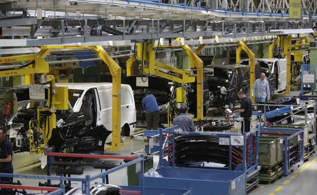 A factory for the automobile industry.