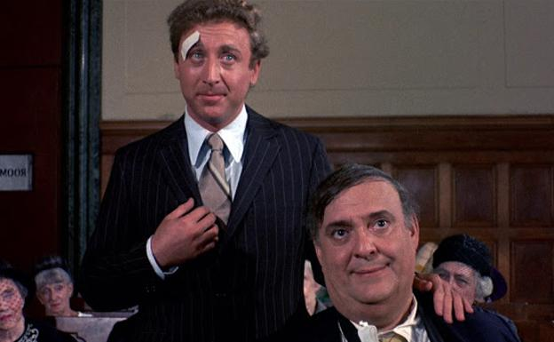 Gene Wilder and Zero Mostel in 'The Producers'.