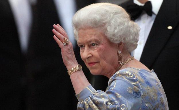 Queen Elizabeth II in a file image.