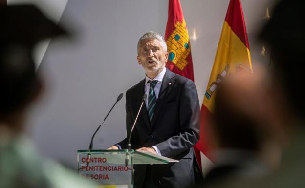 Interior Minister Fernando Grande-Marlaska