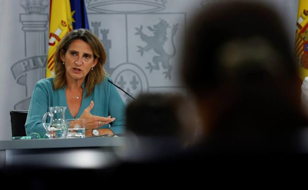 The Minister for the Ecological Transition, Teresa Ribera.