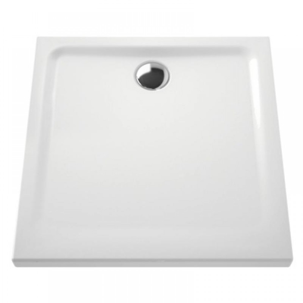 receveur a poser extra plat en ceramique 90x90 cm
