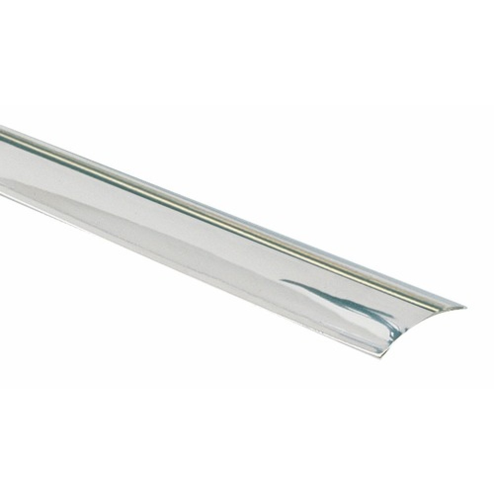 barre de seuil adhesif inox brillant 10 10e largeur 30 mm dinac sur bricozor