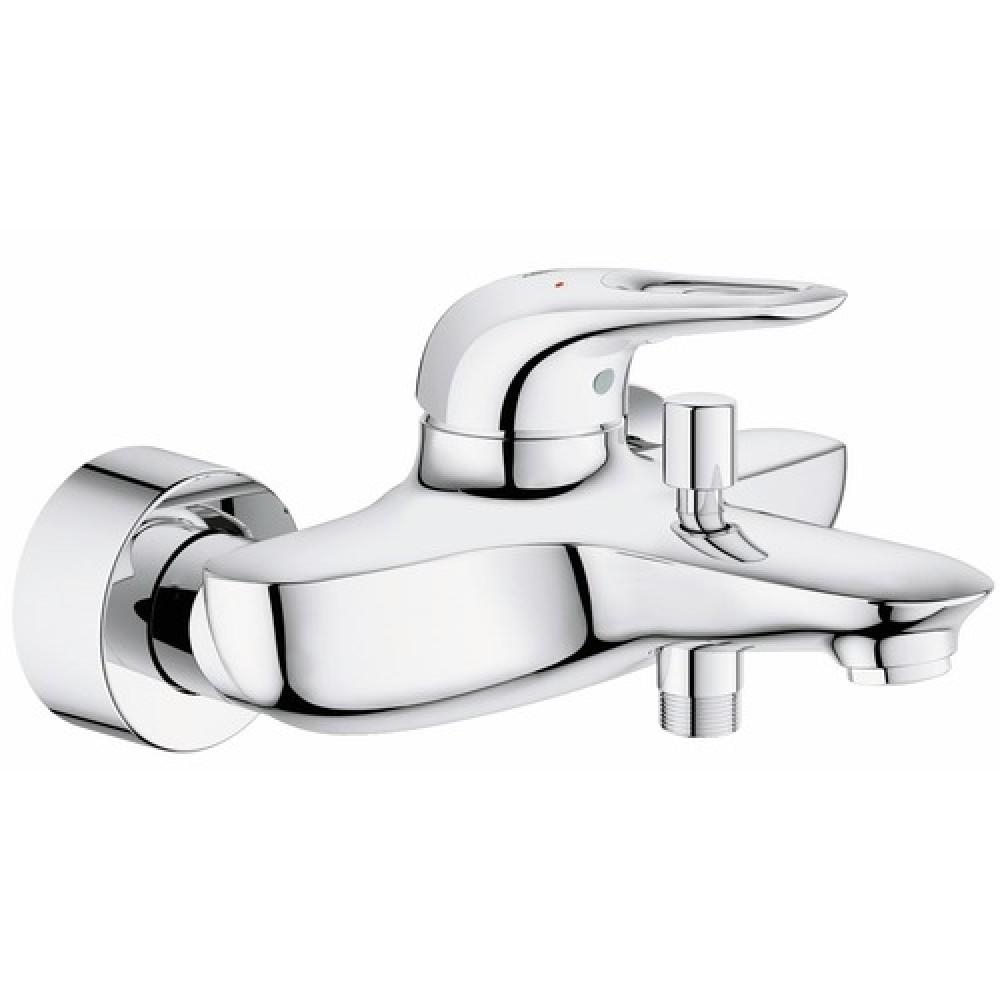 mitigeur bain douche pose murale entraxe 150 mm eurostyle