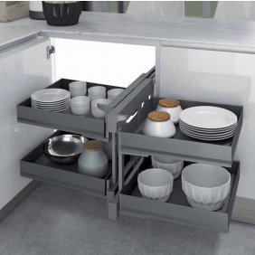plateau tournant meuble d angle cuisine