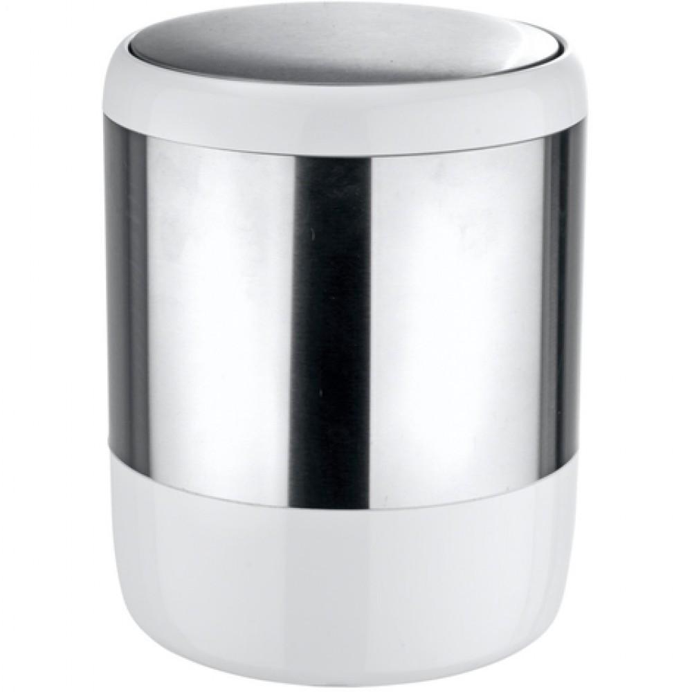 Poubelle De Salle De Bain A Couvercle Oscillant Design Loft 6 Litres Wenko Bricozor